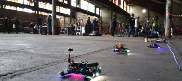 FPV Racing In A Clandestine Warehouse