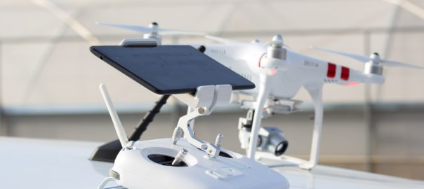 Drone with Controller and iPad App