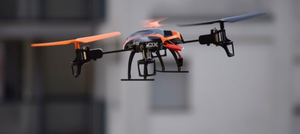 rules on flying drones for business